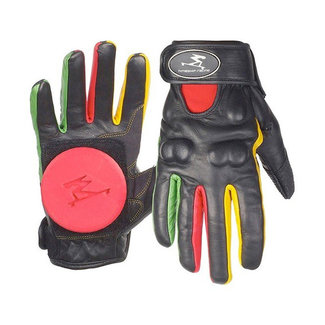 Timeship Racing Slide Gloves Black/Rasta