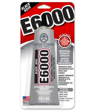 Shoe Goo E6000 Craft Glue Small Black 60ml