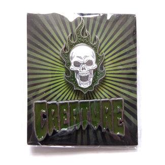 Creature Bonehead Logo Push Back Pin