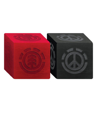 Element Peace Wax Cubes Black/Red