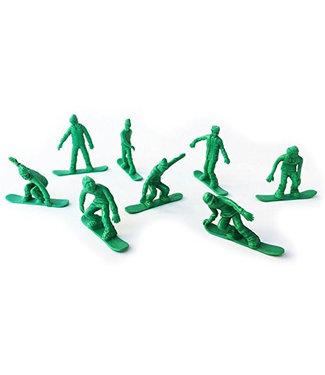 AJ Toyboarders Snowboard Army Green