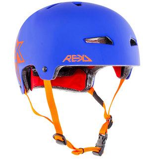 REKD Skate Helm Orange/Blue