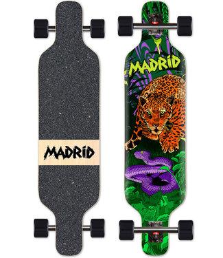 "Madrid Trance Drop Through Jaguar 40"" Longboard Complete"