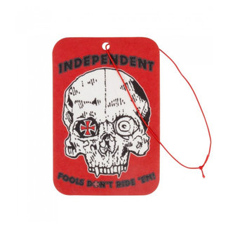 Independent Fools Don't Air Freshener Red/Black