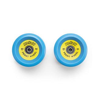 Mellow Front Wheels 80mm/86A Blue