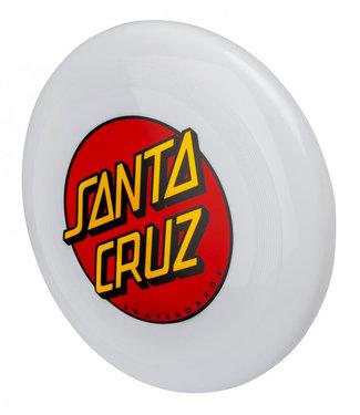 Santa Cruz Dot Flying Disk Frisbee White