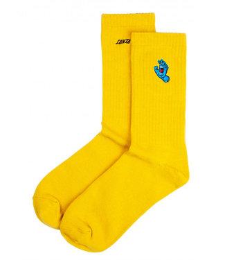 Santa Cruz Screaming Mini Hand Sock  Mustard