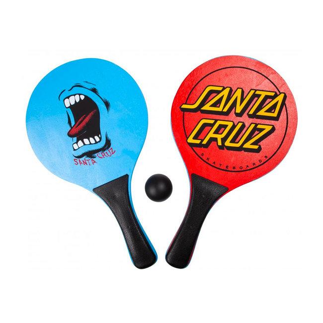 Santa Cruz Classic Bat and Ball Assorted Blue/Red