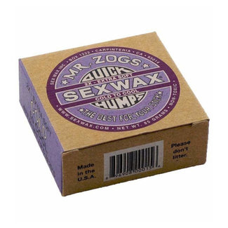 Sex Wax Surf Wax 2x Extra Soft Cold Water Purple 9°C to 20°C