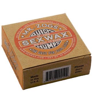 Sex Wax Surf Wax 4x Firm Mid Cool To Warm Dark Orange 18°C to 26°C