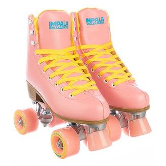 Impala Quad Rollerskate Pink/Yellow