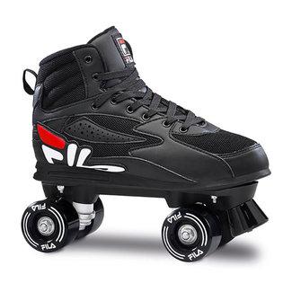 Fila Gift Quad Rollerskates Black