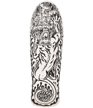 Santa Cruz Salba Tiger My Colorway Reissue 10.3 Skateboard Deck White