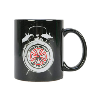 Independent Time To Grind Mug Black