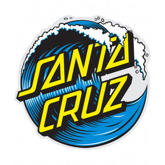 Santa Cruz Sticker Santa-Cruz Wave Dot 6""