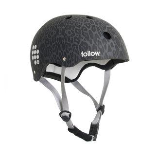 Follow Pro Graphic Helmet Leopard