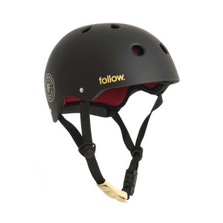 Follow Pro Helmet Black/Maroon
