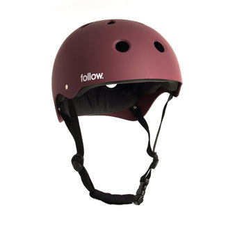 Follow Safety First Helmet Red