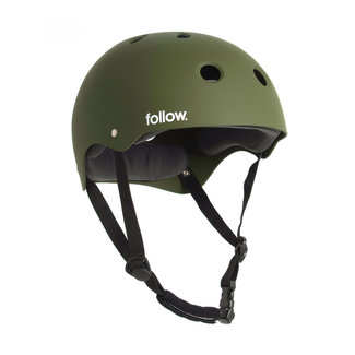 Follow Safety First Helmet Olive