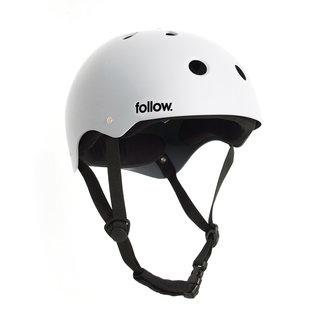 Follow Safety First Helmet L White