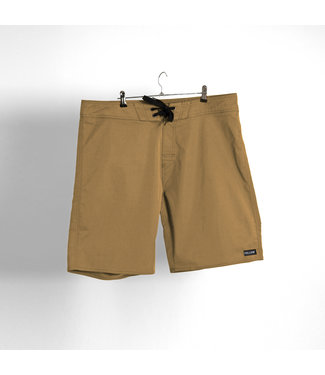 Follow Simple Boardie Khaki
