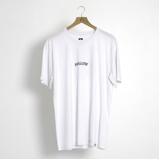 Follow Angry Email Mens Tee White