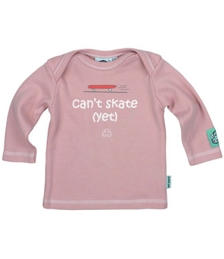 Lazy Baby Can't Skate Yet Pink