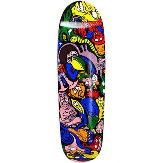 "Willys Workshop Manaloto Black 9.5"" Skateboard Deck"