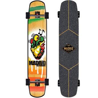 "Madrid Flash Reggae Rocker Bamboo 44"" Complete Longboard"