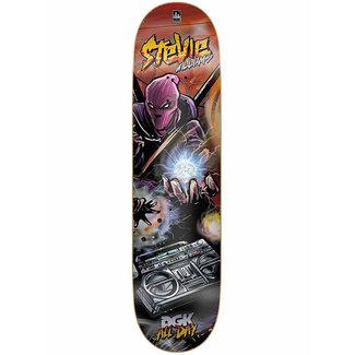 """DGK Apocalypse Williams 7.8"""" Skateboard Deck"""