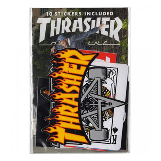 Thrasher Mixed Sticker 10 Pack