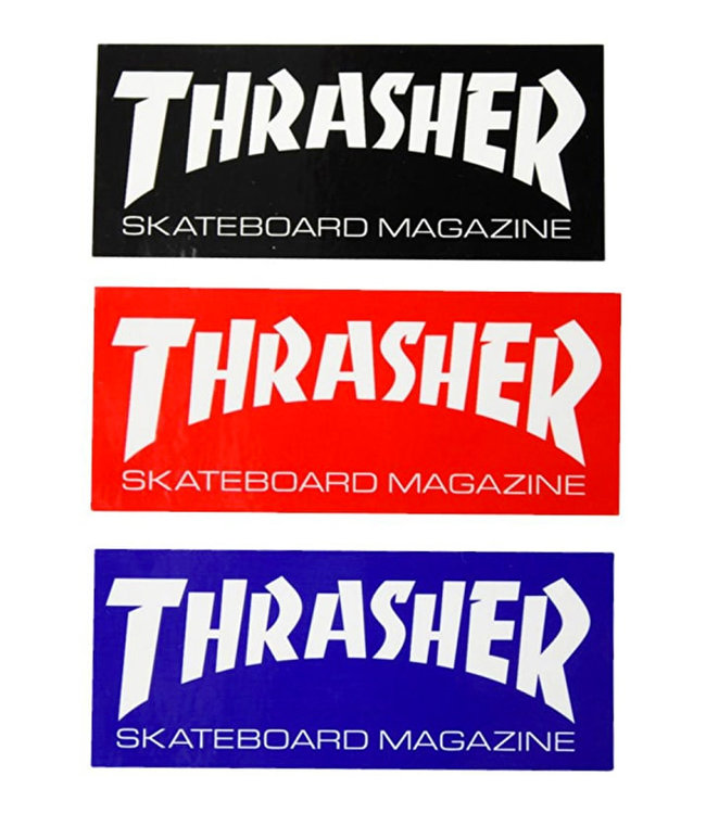 Thrasher Skate Mag Standard Sticker 3 Pack