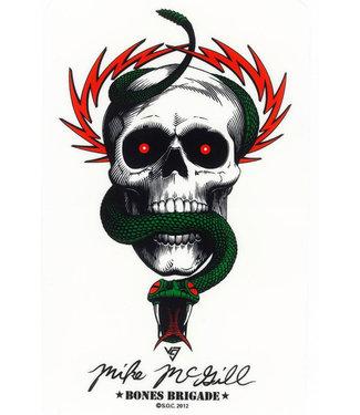 Bones Bones Brigade McGill Sticker
