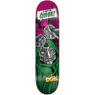 """DGK Villain Quise 8.1"""" Skateboard Deck"""
