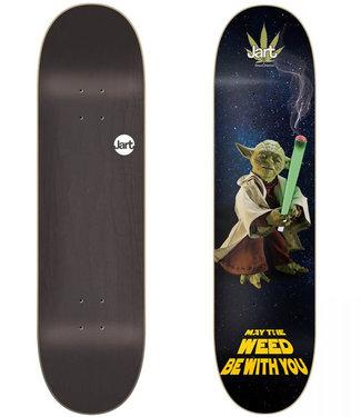 "Jart Weed Nation Yoda  LC Jart 8.375"" Skateboard Deck"