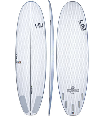 "Lib Tech Pick up Stick 6'6"" Surfboard + FREE Lib Tech 44"" Longboard"