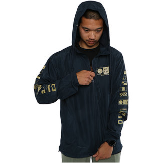 Salty Crew Alpha Windbreaker Jacket Navy