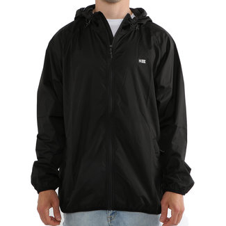 Salty Crew Seawall Packable Jacket Black