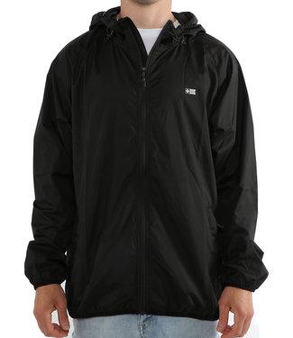 Salty Crew Seawall Packable Jacket Black