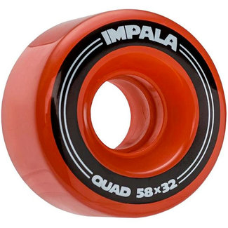 Impala Replacement Wheels 4pk 58MM Red