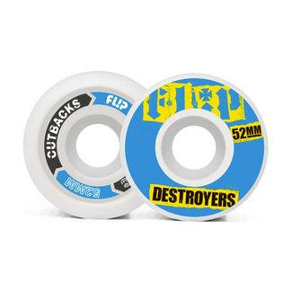 Flip Cutback Wheels Pack 52MM/99A Skateboard Wheels