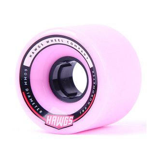 Hawgs Chubby Longboard Wheels 60mm 78A Pink