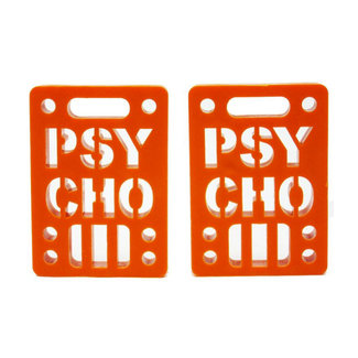 "Psycho Soft Risers 1/8"" (Set of 2) Orange"