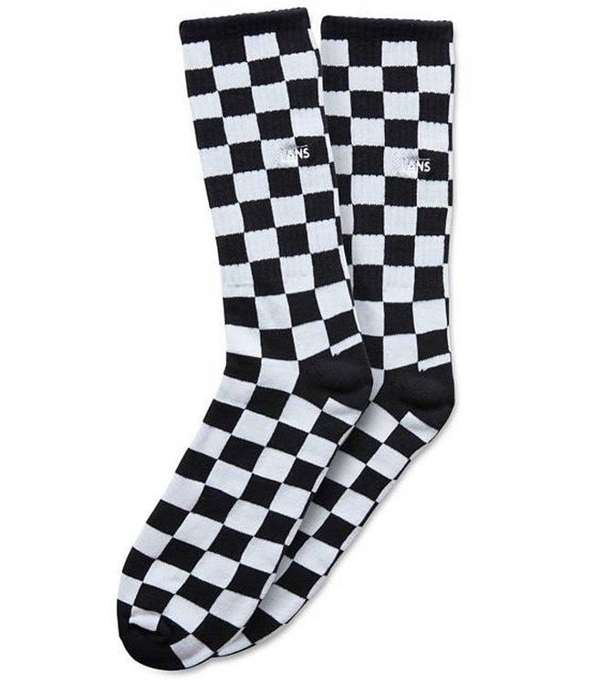 Vans Checkerboard Crew Socks II Black/White