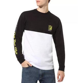 Vans Retro Sport Colorblock LS Shirt White/Black