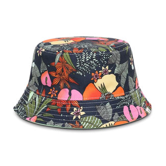Vans Delux Hankley Bucket Hat Multi Tropic/Green Ash