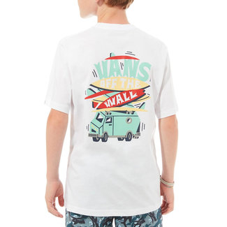 Vans Boarded Up T-Shirt Boys White