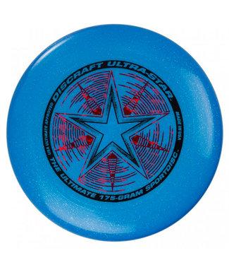 Discraft Ultimate Frisbee 175g Blue Sparkle