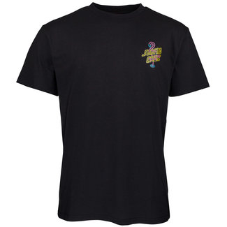 Santa Cruz T-Shirt Glow Dot T-Shirt Black