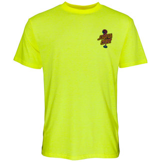 Santa Cruz T-Shirt Glow Dot T-Shirt Safety Green